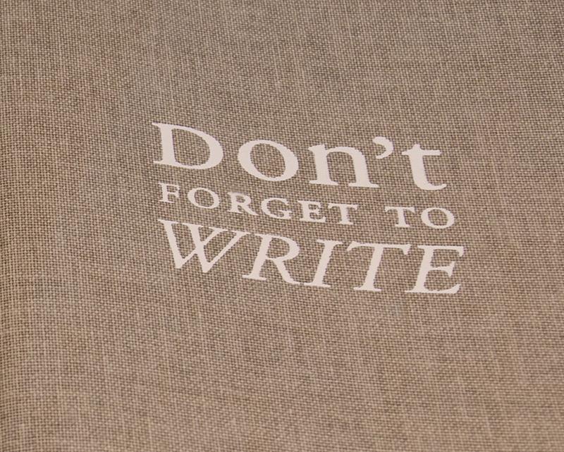 geschriebene Wort